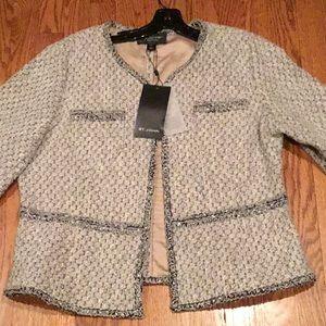 St. John Silk Jacket size 16